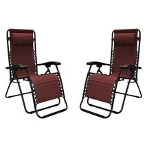 Infinity Zero Gravity Chair 2 Pk 300 lb double bungee system High-streng... - $77.89+