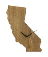 California State Shaped Wood Grain Wall Clock Collection - $19.99