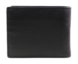 Calvin Klein Ck Men's Leather Billfold Id Wallet With Removable Card Case image 5