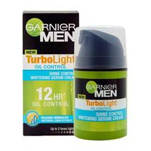 Garnier Men TurboLight OIL CONTROL Shine Control Whitening Serum Cream - $17.28