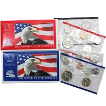 2003 P & D US Mint Set United States Original Government Packaging Box C... - $12.99