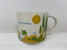 Starbucks You Are Here Collection Mug - 2014 - CALIFORNIA - 14 oz. - $18.80