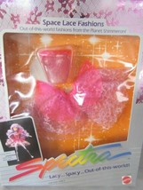 1986 MATTEL SPECTRA SPACE LACE FASHIONS-PARTY DRESS -MNRFB !! - $29.65