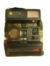 Vintage Polaroid 660 Autofocus Instant Land Camera 600 - Tested-Works - $55.69