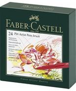 Faber-Castel Pitt Artist Brush Pens (24 Pack), Multicolor  - $68.31