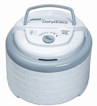 Snackmaster Pro Food Dehydrator, White Top-mounted Fan Adjustable 95°-16... - £71.78 GBP