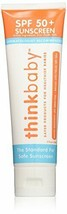 Thinkbaby SPF 50+ Protection Baby Safe Sunscreen 3 Fl oz exp 2020 Sealed... - $11.87