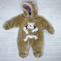 Disney Winnie the Pooh 6-9 Months Plush Jumpsuit One Piece Costume Snows... - $68.91