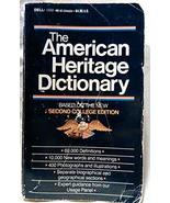 The American Heritage Dictionary American Heritage - $3.15