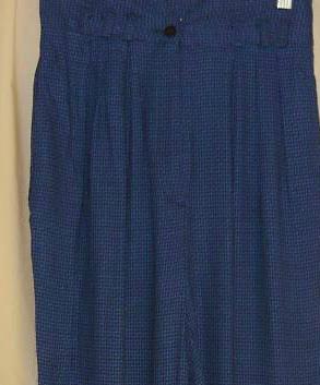 Soft Twilight Blue Highwaist Pants 10