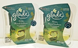 2X Glade Plugins Scented Oil Refills Warm Flannel Embrace 2 Twin Packs - $18.95