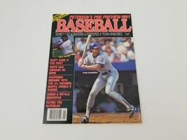 Petersen's Pro Baseball Preview 1991 Ryne Sandberg Cecil Fielder Cover MLB - $19.73