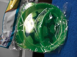 NEW ANGEL OF MINE DIVIDED PLATE SET PACK OF 2 ANIMAL GREEN TURTLE  CUTE - $5.86