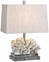 Uttermost Taupe Ivory Coral Table Lamp - $195.80