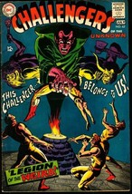 CHALLENGERS OF THE UNKNOWN #62-DC VG/FN - $14.90
