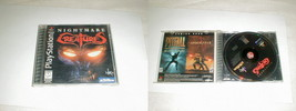 Nightmare Creatures  VG  Complete Playstation PS1 Clean Tested  - $25.00
