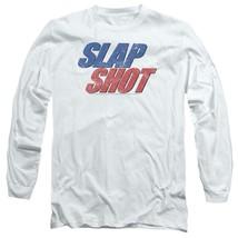 Slap Shot Retro 70s American comedy graphic t-shirt long sleeve UNI960 image 1
