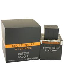 Lalique Encre Noire A L'extreme Cologne for Men - 3.3oz/100ml - $115.75+