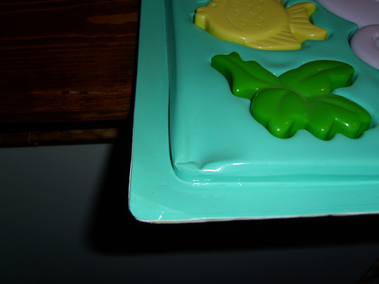 My Little Pony G1 merchandise Sea Light plastic puzzle