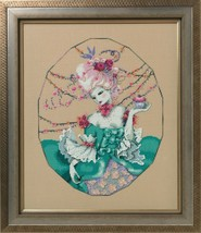 "MD166 ""BAKER'S WIFE"" Mirabilia Chart + Embellishments + 2 Caron 0.5 + Kreinik - $44.54"