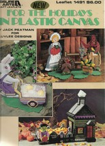 Plastic Canvas Pattern Booklet-For The Holidays in Plastic Canvas-Christ... - $4.95