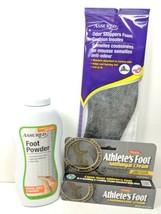 AntiFungal Cream Foot Powder Odor Control Shoe Insole Unisex Bundle (m2) - $10.99