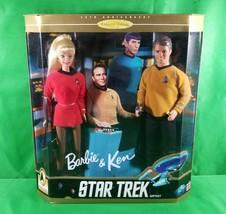 Collector Edition 1996 Barbie and Ken Star Trek Set New - $13.46