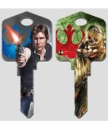 Star Wars Key Blanks (SC1, Han Solo) - $9.79