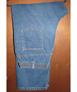 Men's Haband Ice House Flannel Lined Blue Jeans... - $10.00
