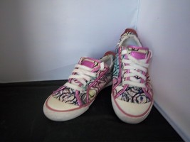 COACH - Women's Bright Pink/Multi Colored Tennis Shoes - SIZE 7 - $26.99