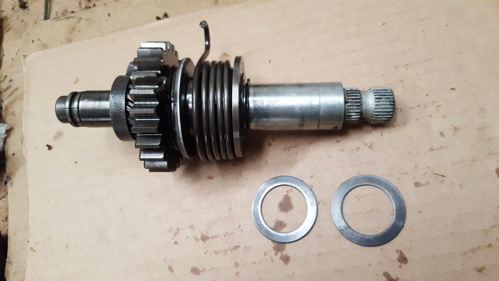 72-83 Yamaha XS650 TX650 kickstart kick start starter gear shaft spindle ASSY