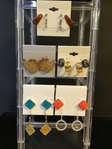 Lot of 10 vintage Pierced earrings (1345) - $10.00