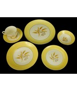 Century Service, Autumn Gold 6 Piece Place Setting, Virtuous China Mid C... - $14.65