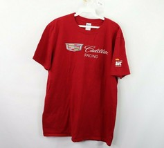 Cadillac Racing Mens Large Pirelli World Challenge Spell Out Short Sleev... - $24.70