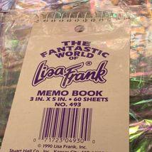 Vintage Lisa Frank Markie The Unicorn Lot Diary Stickers Stationery Keychain  image 7