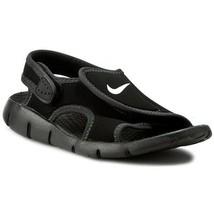 Nike Big Kid's Sunray Adjust 4 Sandal NEW AUTHENTIC Black 386518-011 - $23.99