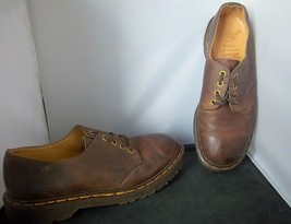 Dr. Martens - Men's Brown Leather Casual Oxford Shoes - Size 8 - $49.95