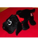 """Hasbro Pound Puppy 10"""" Plush Midnight Black with Rescue Heart-Shaped Dog Tag LN - $8.49"""