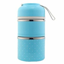 PANDA SUPERSTORE Warm Keeping Stainless Steel Liner Lunch Box Durable Le... - $37.76