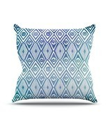"Kess InHouse Pom Graphic Design ""Tribal Empire"" Outdoor Throw Pillow, 18... - $46.49"