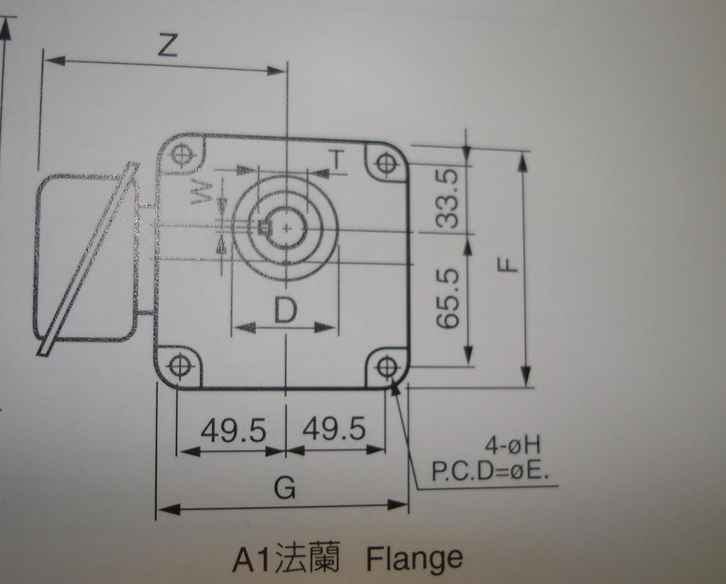 Tung Lee Gear Motor GF18-100-50S