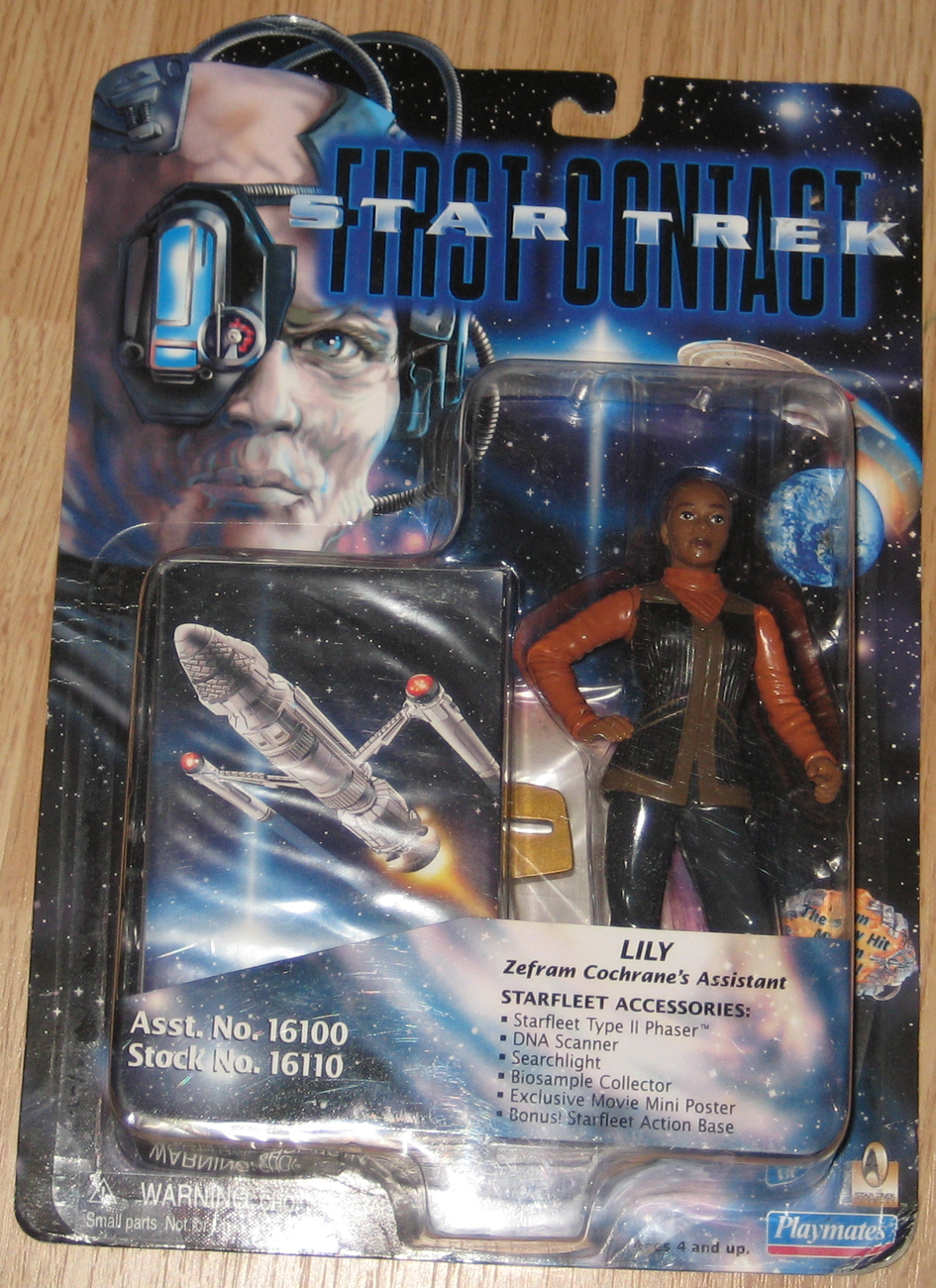 * Star Trek First Contact Lily MOC