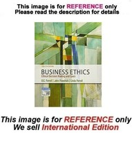 Business Ethics: Ethical Decision Making & Cases, 12th (Exclude Access C... - $59.90