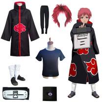 Naruto Unisex Halloween Cosplay Show Costume Cloak Headband Sets (7 pcs ... - $102.84