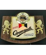 Grenzquelle German Pilsner Beer Lighted Cash Register Display Bar Sign R... - $169.69