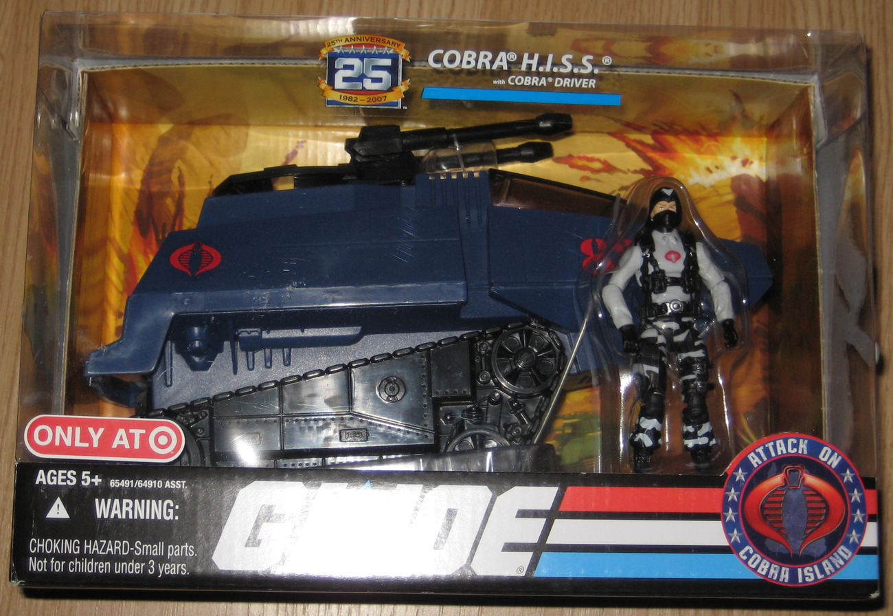 * G.I.Joe 25th Anv COBRA H.I.S.S. MIB