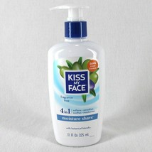 Kiss My Face 4 in 1 Moisture Shave 11 oz Fragrance Free Vegan New - $16.99