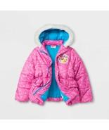 NEW Girls Moose Shopkins Puffy Puffer Coat Jacket Size 4 5 6 6x Lippy Li... - £13.95 GBP+