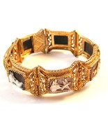 Victorian Etruscan 800 Sterling Silver Gold Ver... - $499.99