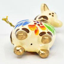 Handcrafted Painted Ceramic White Giraffe Confetti Ornament Made in Peru image 5